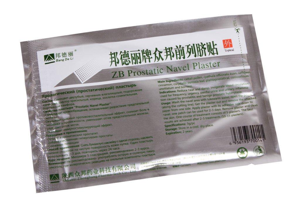 помогает китайский пластырь от простатита