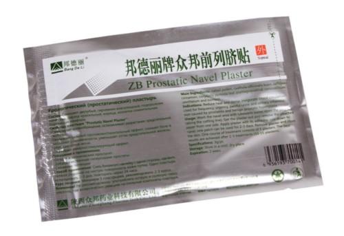 Урологический пластырь ZB Prostatic Navel Plaster