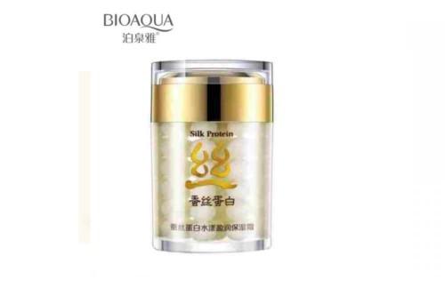 Крем BioAqua Silk Protein