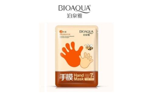 Медовая маска-перчатки для рук BioAqua