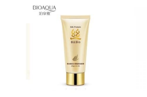 Пенка для умывания BioAqua Silk Protein