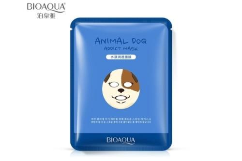 Питательная маска BioAqua Animal Face Dog