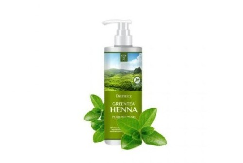 DEOPROCE RINSE - GREENTEA HENNA PURE REFRESH