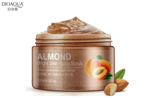 BioAqua Almond Bright Skin Body Scrub
