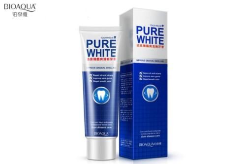 BioAqua Pure White Toothpaste