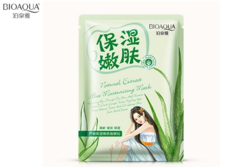 Bioaqua natural extract mask aloe