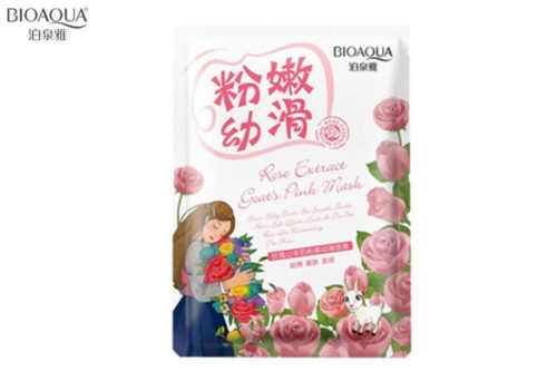 Bioaqua natural extract mask rose