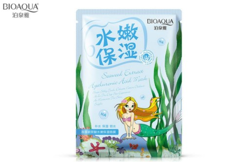 Bioaqua natural extract mask sea collagen