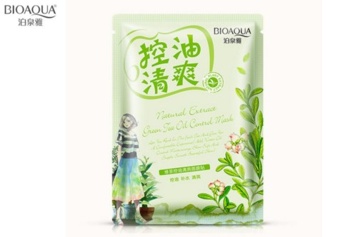 Bioaqua natural extract mask tea tree