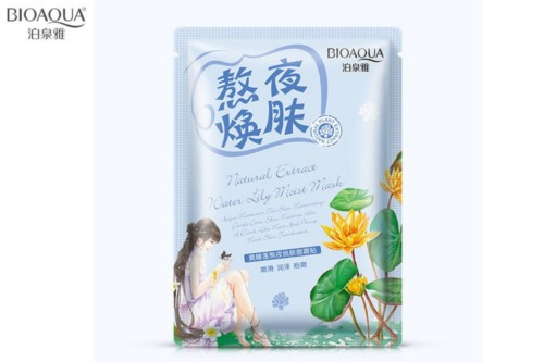 Bioaqua natural extract mask water lily