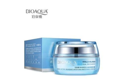 BioAqua Hyalo-Oligo Dual Recovery Smoothing Cream