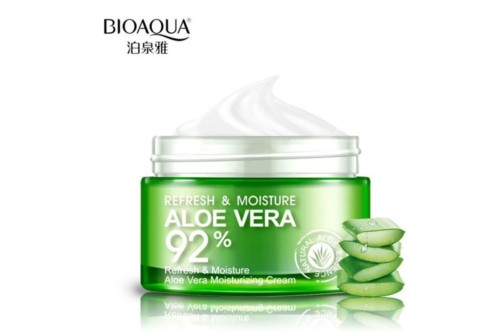BioAqua aloe vera extract moisturizing repair skin essence cream