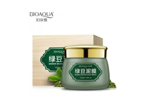 BioAqua mung bean mud cleansing wash facial mask
