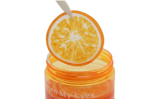 BioAqua orange & green tea extract eye mask moisturizing remover dark circle1