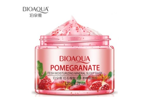 bioaqua Pomegranate fresh moisturizing sleeping mask