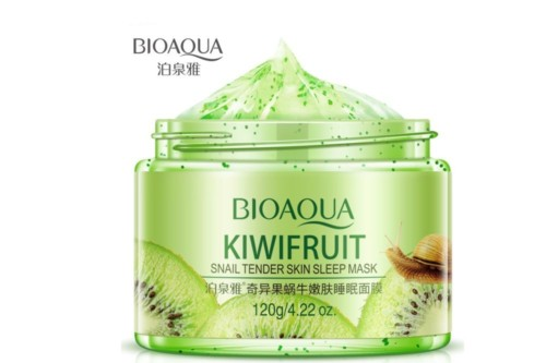 bioaqua kiwi fresh moisturizing sleeping mask
