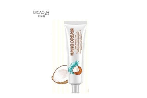 BioAqua Coconut Hand Cream.