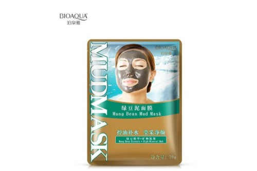 BioAqua mung bean face mask