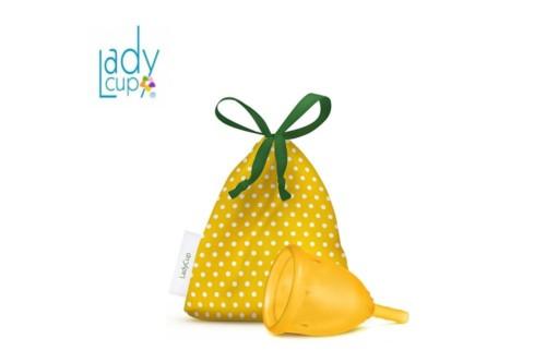 LadyCup желтая