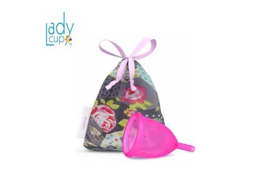 LadyCup ярко-розовая