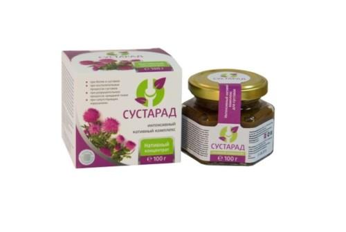 Концентрат пищевой на основе растительного сырья Сустарад, Сашера-мед, 100г