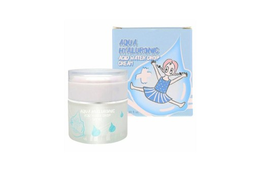 Elizavecca Aqua Hyaluronic Acid Water Drop Cream Увлажняющий гиалуроновый крем для лица, 50 мл