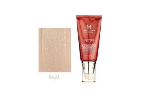 Missha M Perfect Cover BB Cream Тональный ББ-крем №21, светло-бежевый, 50 мл