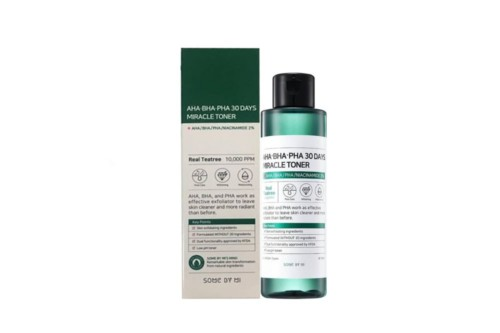 Кислотный очищающий тонер для проблемной кожи Some By Mi AHA-BHA-PHA 30 Days Miracle Toner, 150 мл