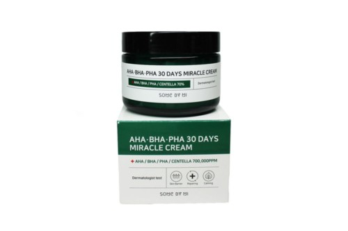 Восстанавливающий крем для проблемной кожи Some By Mi AHA-BHA-PHA 30 Days Miracle Cream, 60 мл
