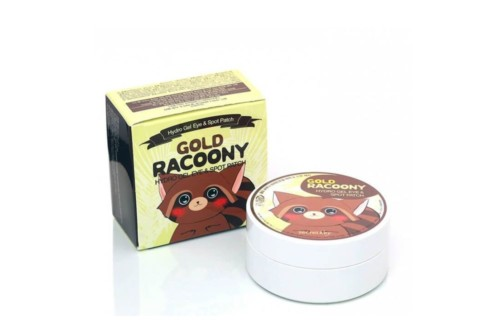 Secret Key Gold Racoony Hydrogel Eye & Spot Patch, 60+30 шт.