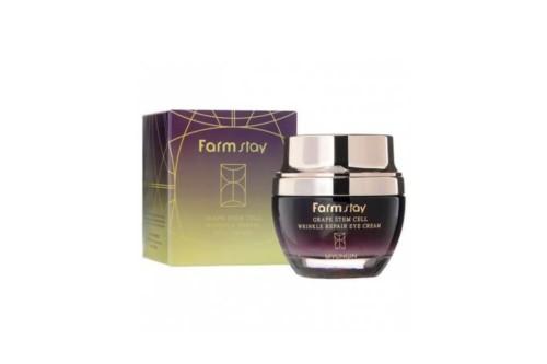 FarmStay Grape Stem Cell Wrinkle Lifting Cream Омолаживающий лифтинг-крем с фито- стволовыми клетками, 50 мл