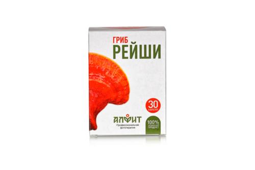 Концентрат на растительном сырье Гриб Рейши, блист ,30 капс по 470 мг