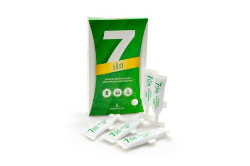 7 Slim концентрат пищевой, Сашера Мед, 5 монодоз по 5 мл