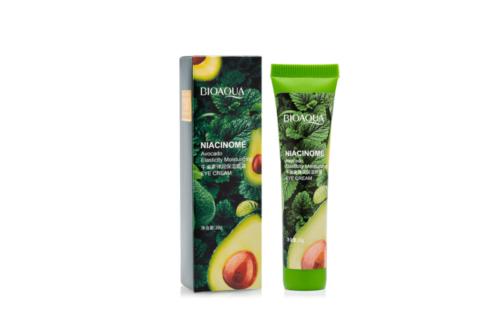 Bioaqua Niacinome Avocado Elasticity Moisturizing Eye Cream Крем для век с экстрактом авокадо, 20 г min