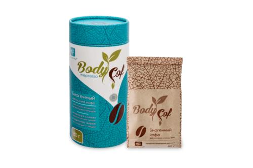 BodyCof mepresso кофе для похудения, Сашера мед, 80 г